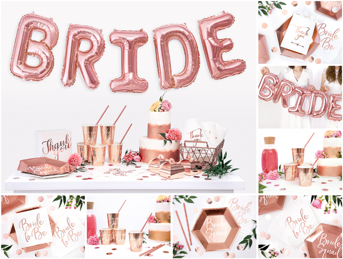 Rose Gold Bride To Be Collection