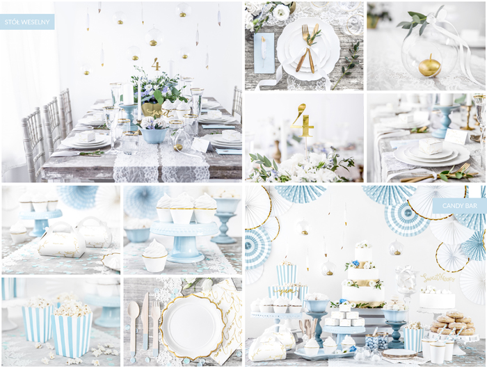 Kolekcja Dusty Blue Wedding