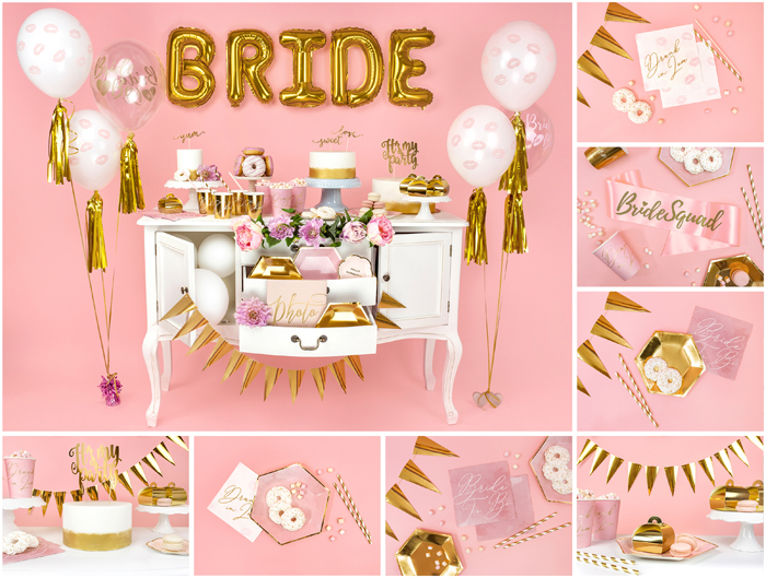 Gold Bridal Shower Collection