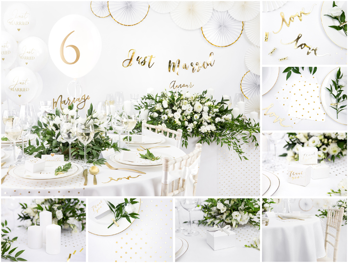 Kolekcja White & Gold Wedding